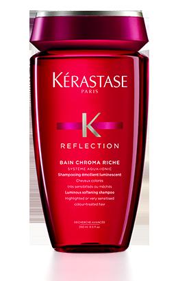 shampoo kerastase per capelli colorati, bain chroma riche